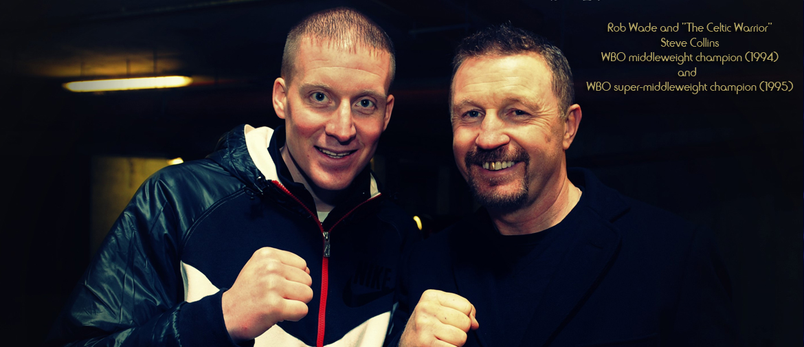 Rob Wade and Steve Collins
